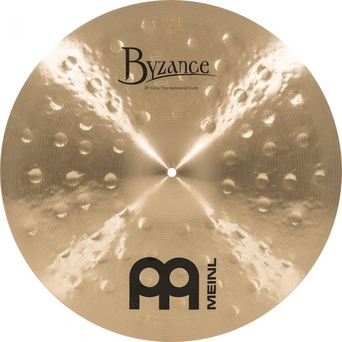 View of the Meinl Byzance 20 Inch Crash