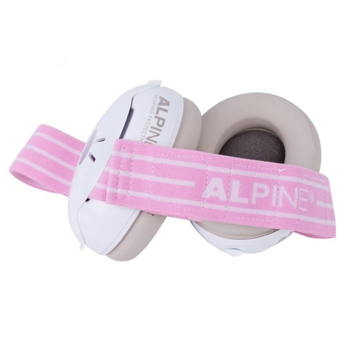 Alpine Muffy Baby Hearing Protector Pink detail