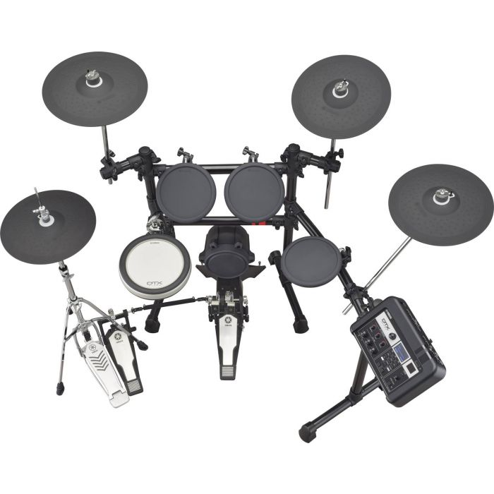 Overhead View of Yamaha DTX6K2-X Electronic Drum Kit