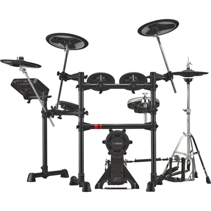 Front View of Yamaha DTX6K2-X Electronic Drum Kit