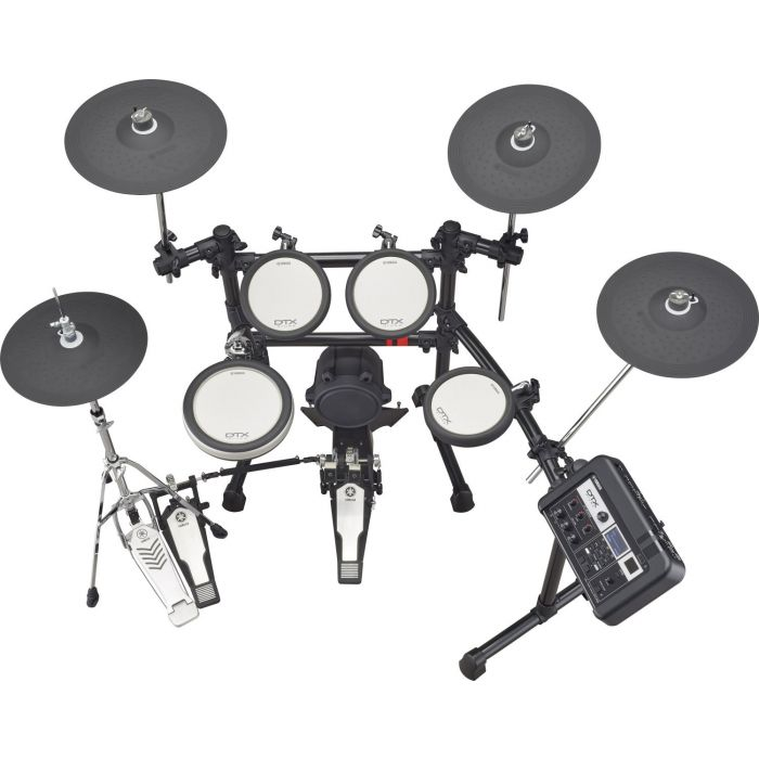 Top View of Yamaha DTX6K3-X Electronic Drum Kit