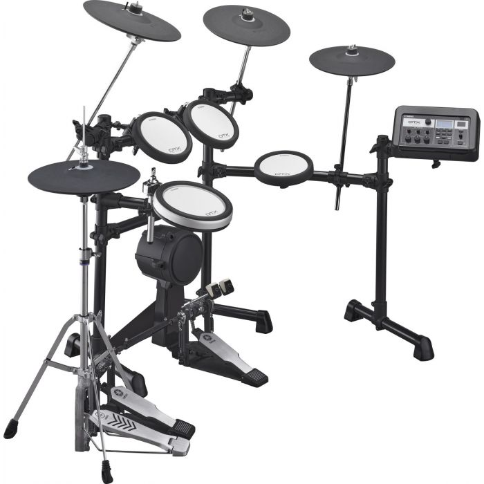Side View of Yamaha DTX6K3-X Electronic Drum Kit