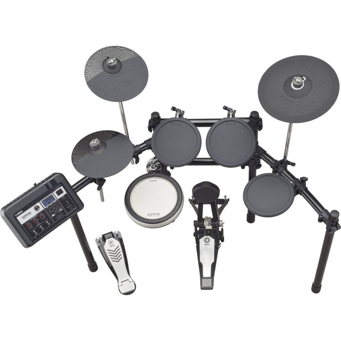 Overhead View of Yamaha DTX6K-X Electronic Drum Kit
