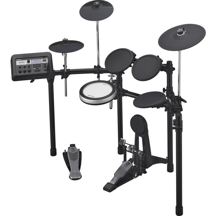 Side Angle View of Yamaha DTX6K-X Electronic Drum Kit