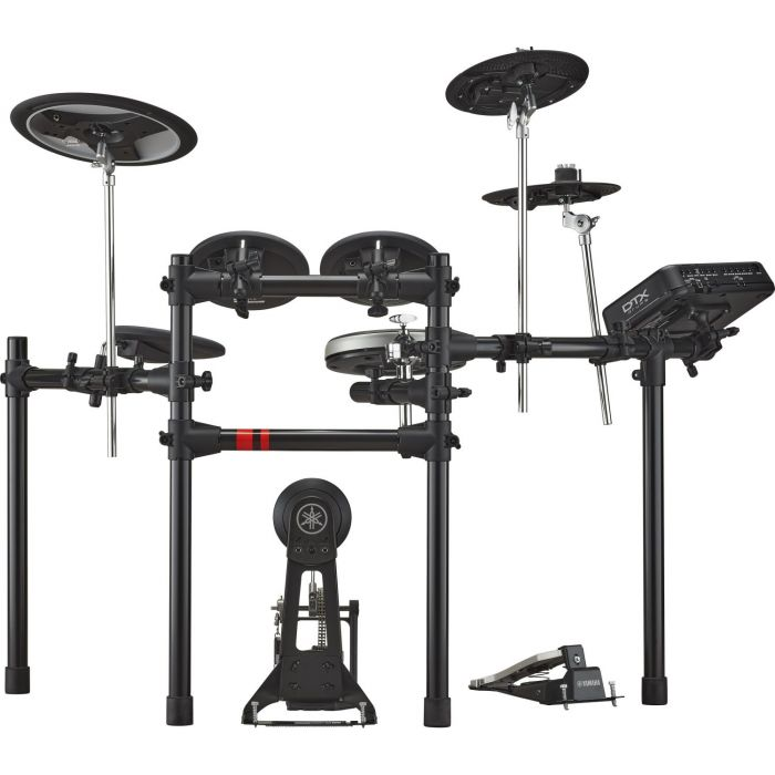 Front View of Yamaha DTX6K-X Electronic Drum Kit