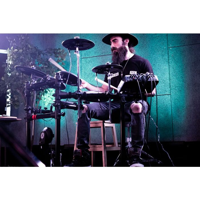 Yamaha DTX6K-X Electronic Drum Kit Being Played