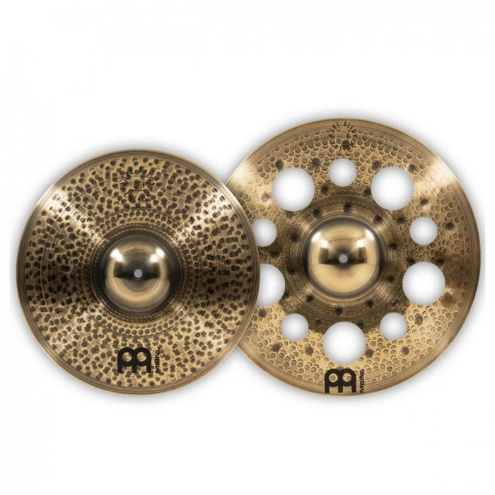Cymbal view of the Meinl Pure Alloy Custom Crash Cymbal Set