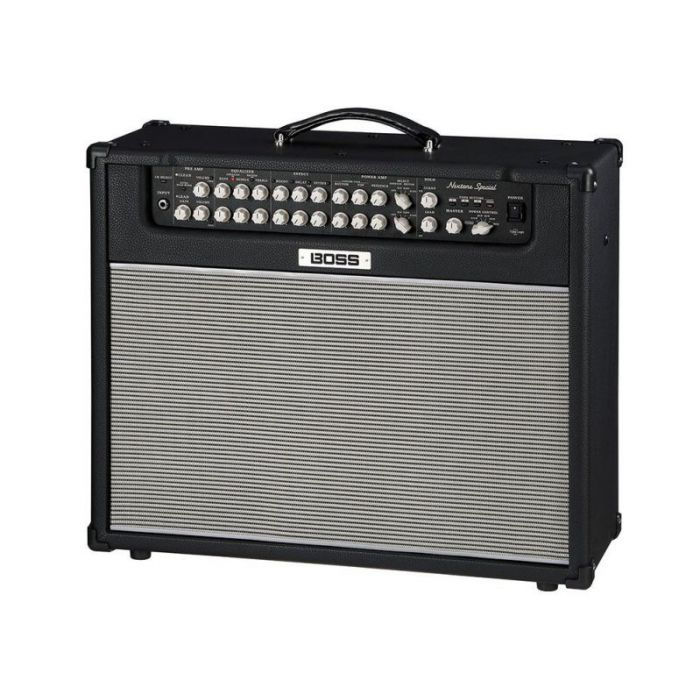 Front angled view of a Boss Nextone Special Guitar Amplifier