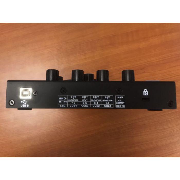Rear View of Pre-Loved Denon SC2000 DJ MIDI Controller