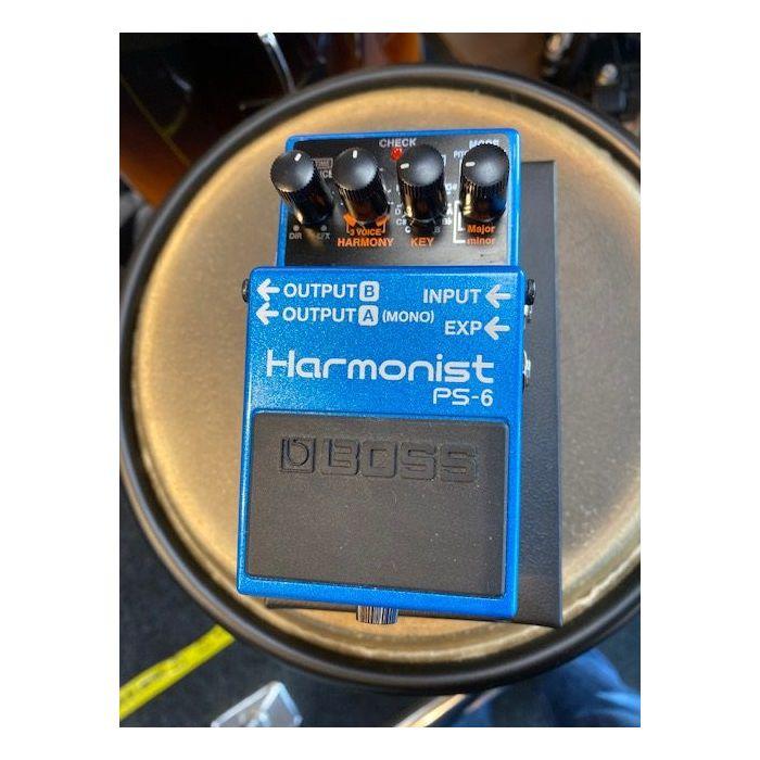 Pre-Loved Boss PS-6 Harmonist Pedal