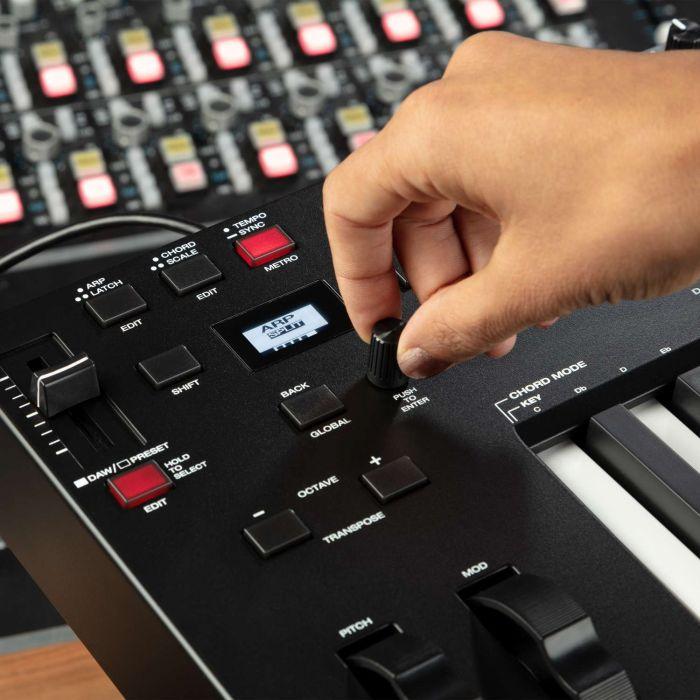M-Audio Oxygen Pro 25 Controls
