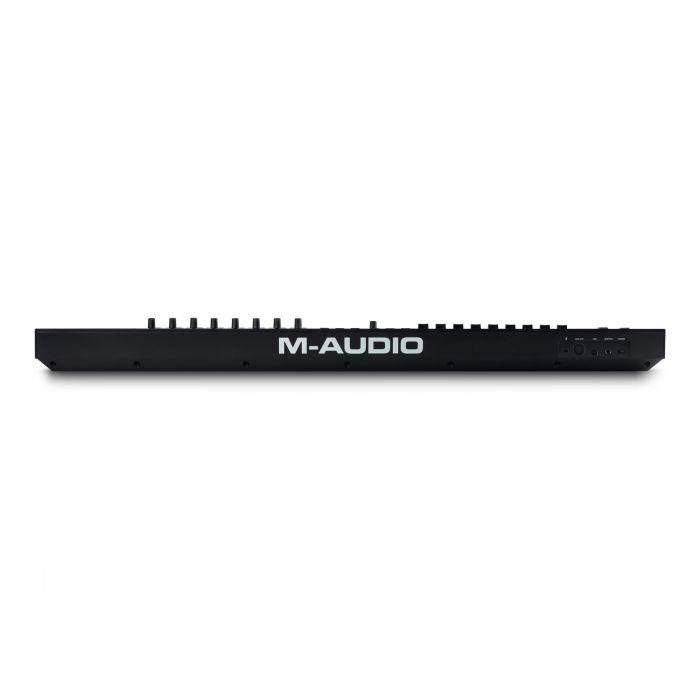 Rear View of M-Audio Oxygen Pro 61 USB MIDI Controller