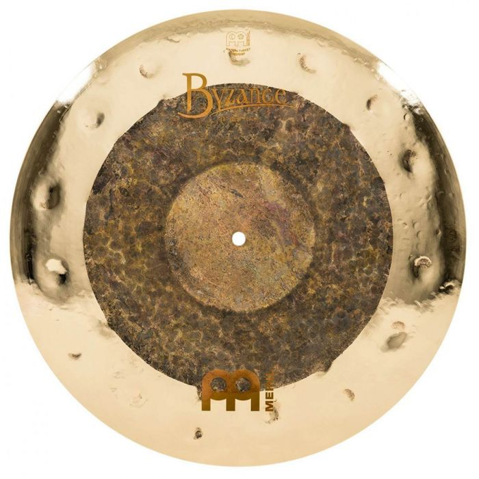 View of the 18 Inch Crash in the Meinl Byzance Dual Complete Cymbal Set