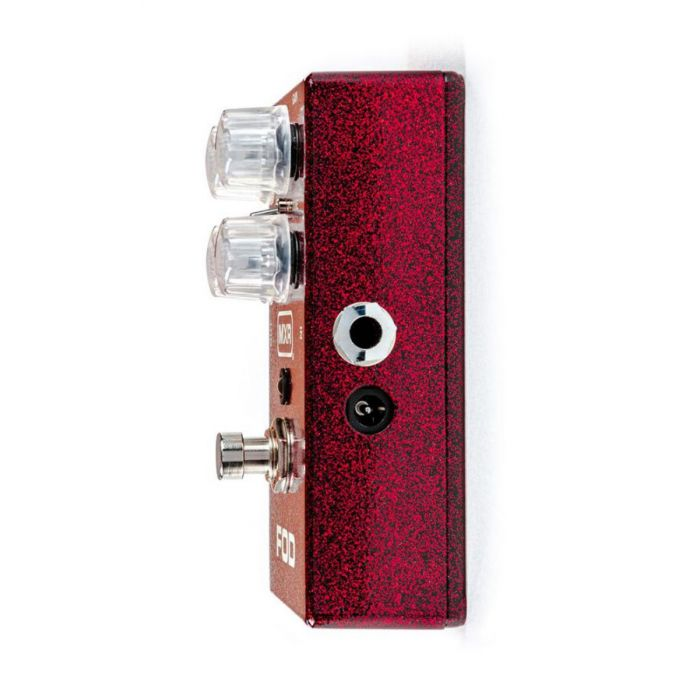 MXR M251 FOD Drive Overdrive Pedal viewed from the right side