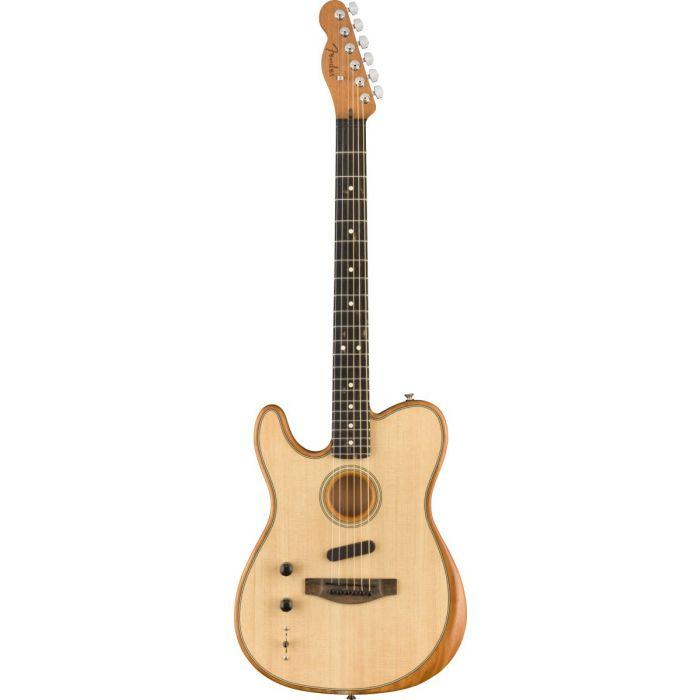 Fender Acoustasonic Telecaster Left Handed Natural