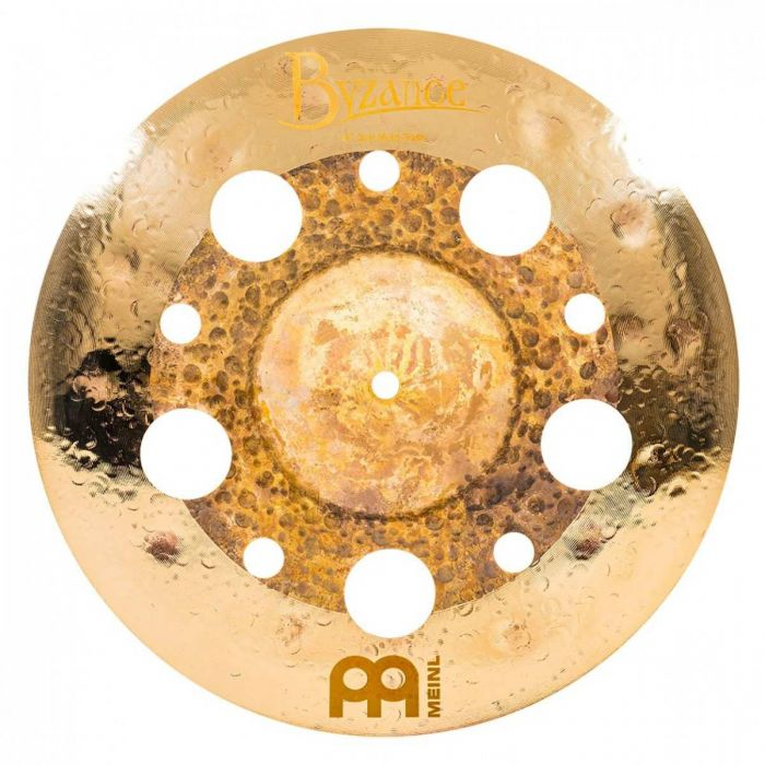View of the 14 inch trash crash in the Meinl Byzance Dual Cymbal Set