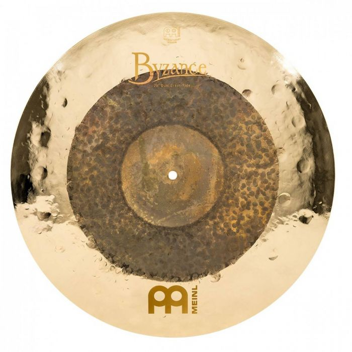 View of the 20 inch crash in the Meinl Byzance Dual Cymbal Set