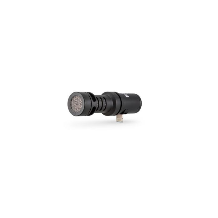 View of the Rode VideoMic iin the Rode Vlogger Kit iOS Edition