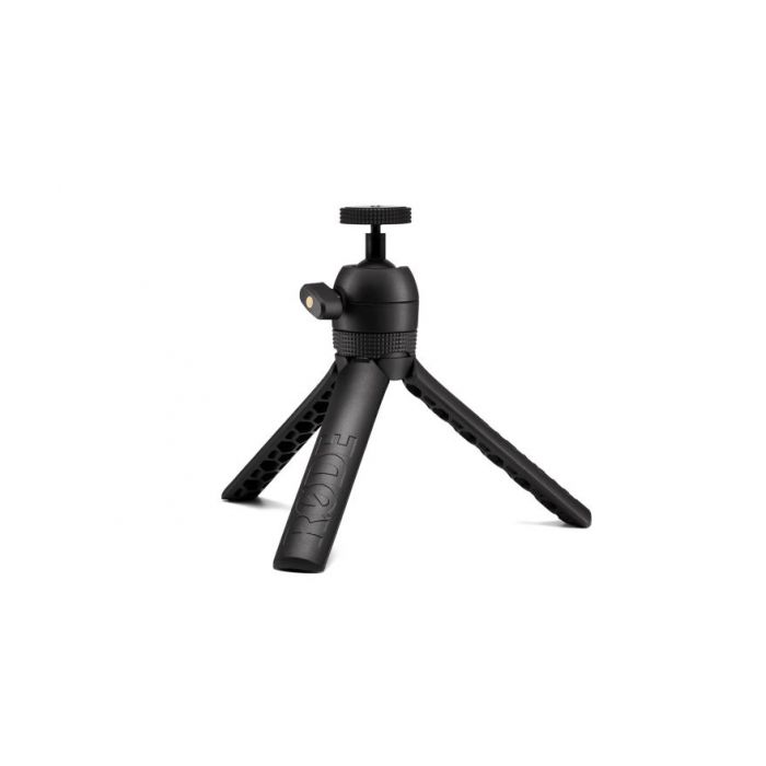 View of the tripod in the Rode Vlogger Kit iOS Edition