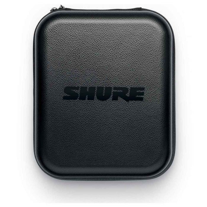 Front of Shure SRH1540-BK Headphones Case
