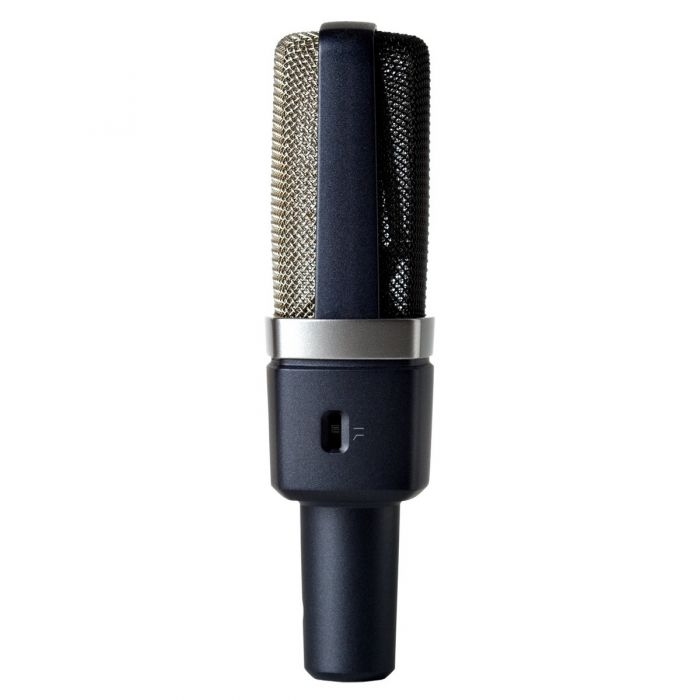 AKG C214 Large Diaphragm Condenser Microphone Stereo Pair Side