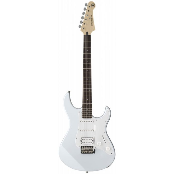 Front view of a Yamaha Pacifica 012 in White