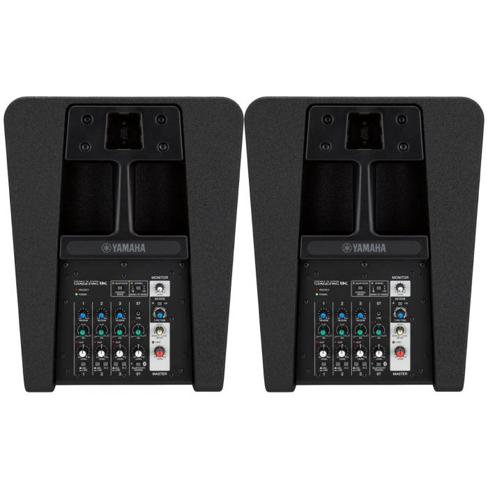 Yamaha StagePas 1K Portable PA System Pair Controls