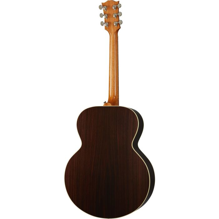 Full rear view of a Gibson SJ-200 Studio Rosewood Antique Natural