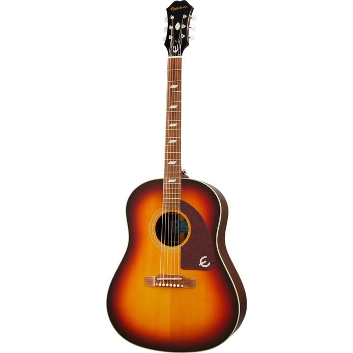 Epiphone Masterbilt Texan Faded Cherry Aged Gloss front view