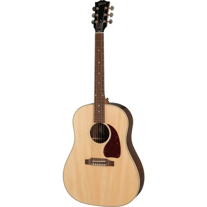 Gibson J-45 Studio Walnut Electro Acoustic, Antique Natural viewed from the front