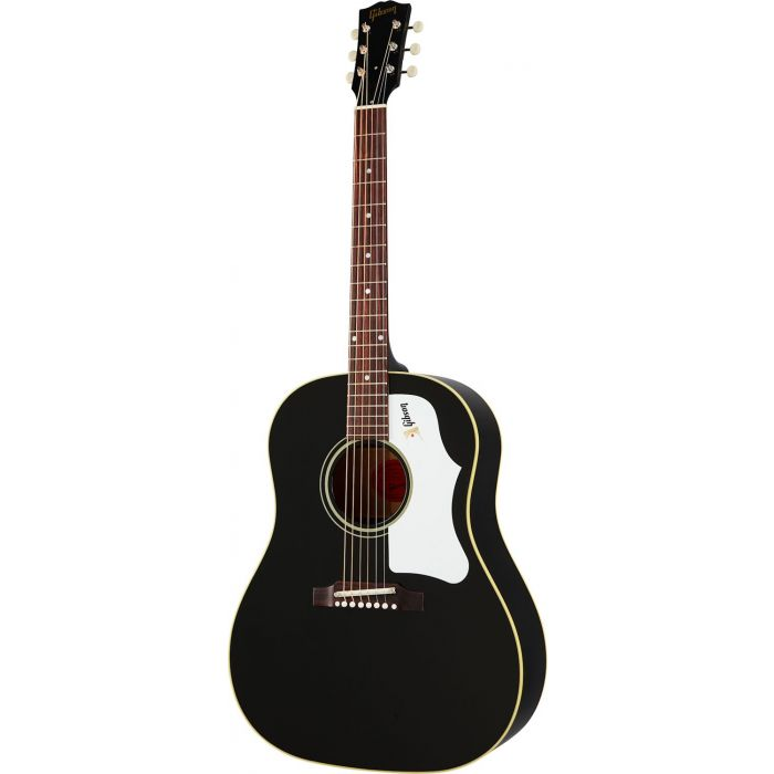 Gibson 60s J-45 Original Ebony Acoustic Guitar viewed from the front