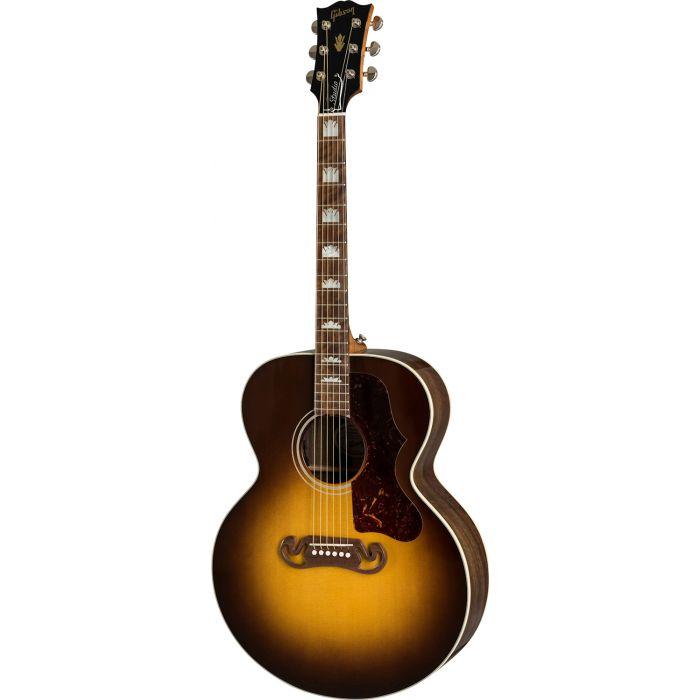 Gibson SJ-200 Studio Walnut Electro Acoustic, Walnut Burst front view