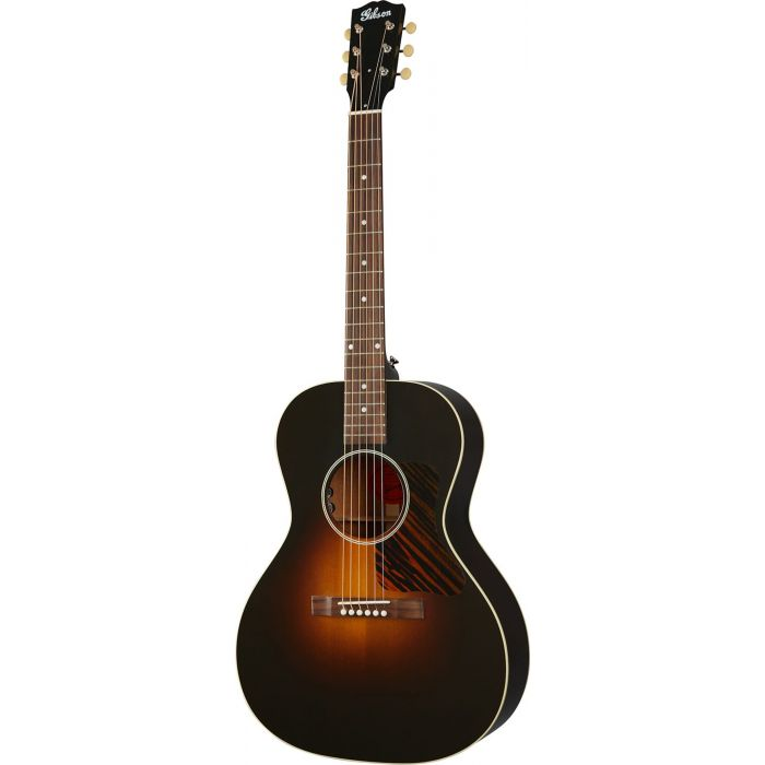 Full frontal view of a Gibson L-00 Original Electro Acoustic, Vintage Sunburst