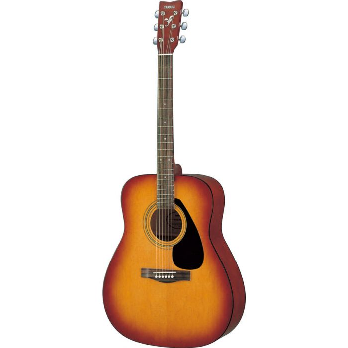 Overview of the Yamaha F310 Acoustic Guitar in Tobacco Sunburst