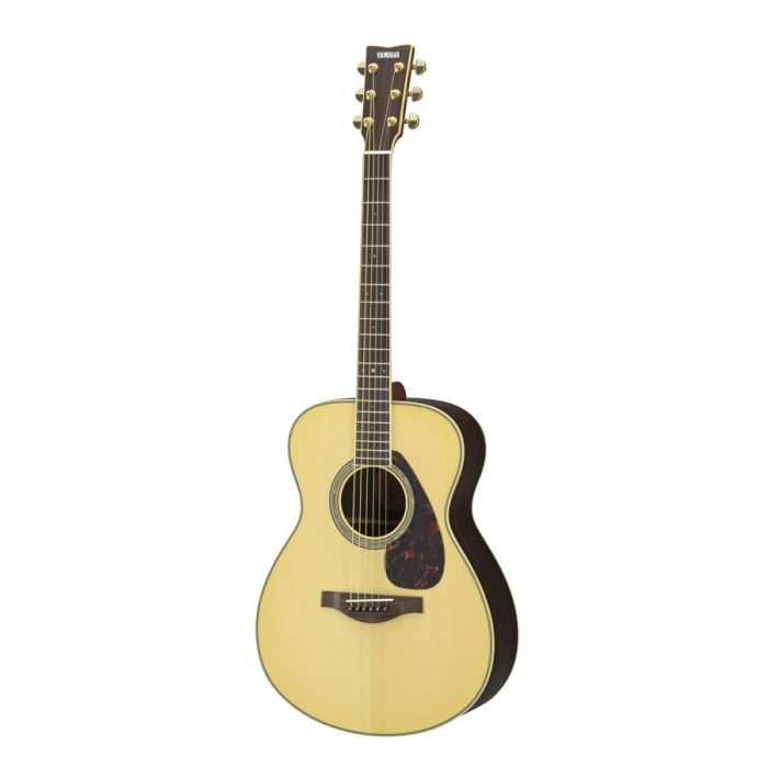 Overview of the Yamaha LS6 ARE Electro Acoustic Guitar Natural