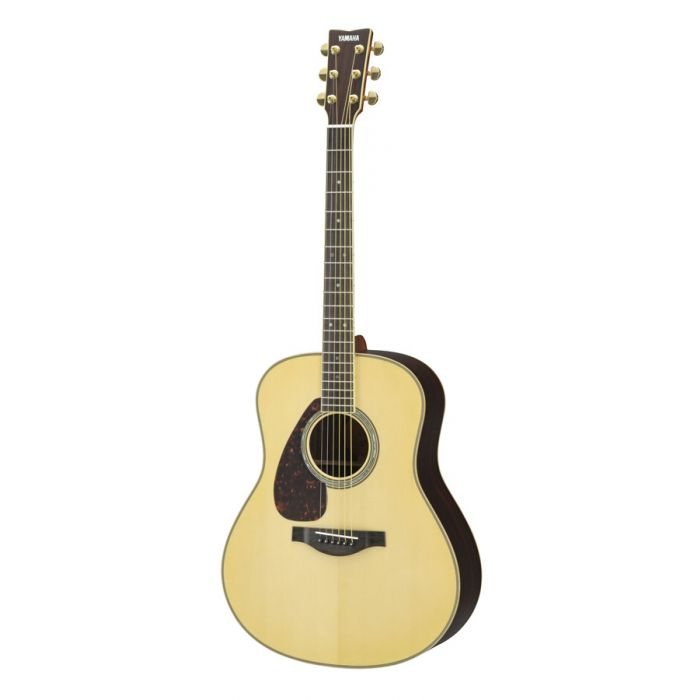 Overview of the Yamaha LL16 ARE Electro Acoustic Natural Left Handed