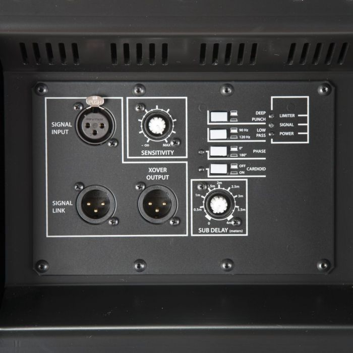 RCF SUB 8004-AS Active High Power Subwoofer Panel Zoom