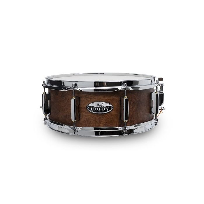 Pearl Modern Utility Maple 13x5 Snare Drum, Bay Stallion front view