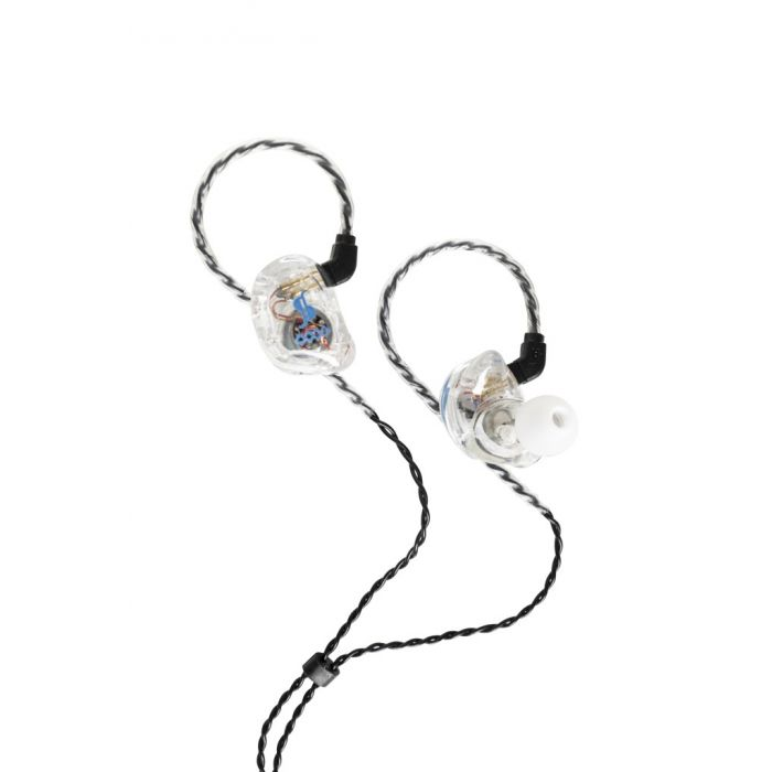 Stagg SPM-435 4 Driver In-Ear Stage Monitor In-Ear Transparent open