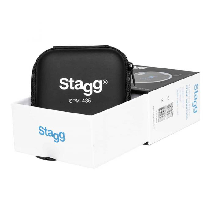 Stagg SPM-435 4 Driver In-Ear Stage Monitor In-Ear Transparent open box