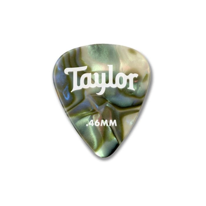 Taylor Celluloid 351 Heavy Guitar Picks 0.96mm Abalone 12 Pack