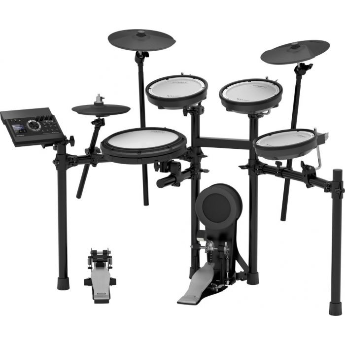 Full view of a Roland TD-17KV Electronic Drum Kit