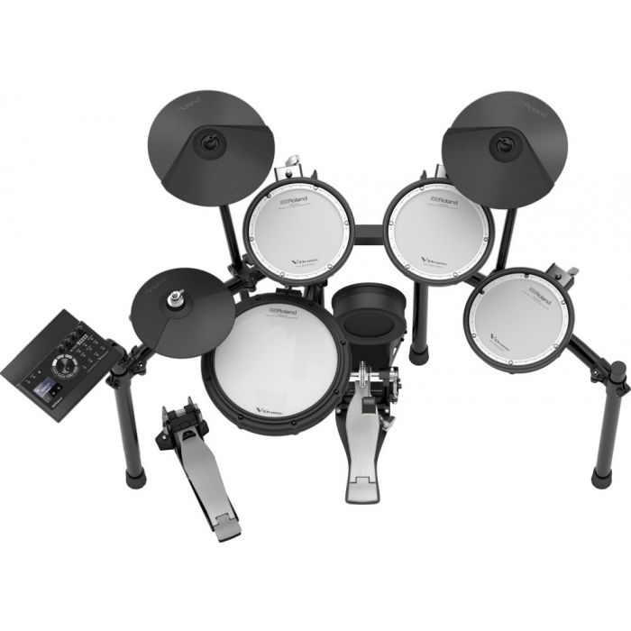 Top-down view of a Roland TD-17KV Electronic Drum Kit