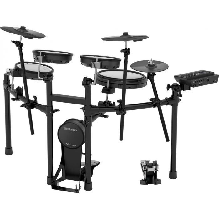Front view of a Roland TD-17KV Electronic Drum Kit