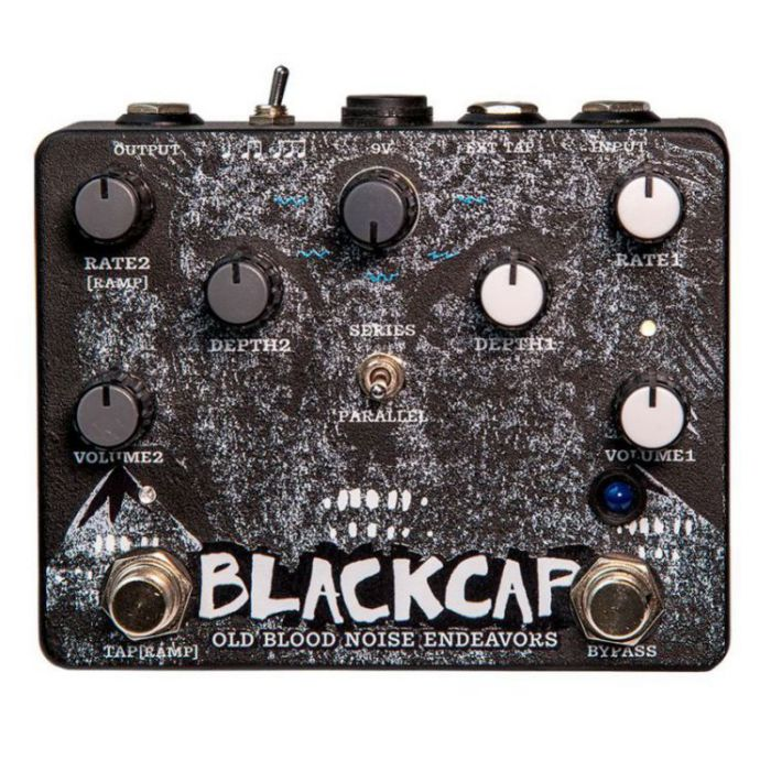 Top-down view of a Old Blood Noise Endeavors Blackcap Harmonic Tremolo