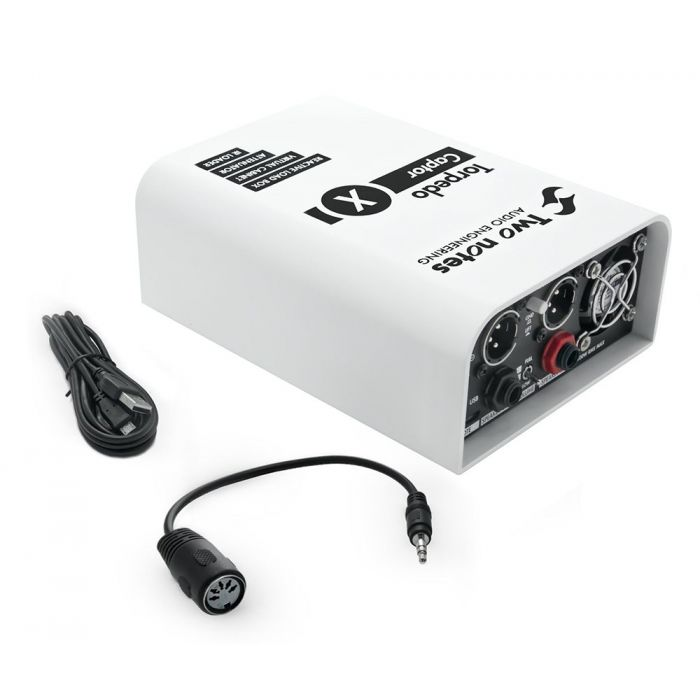 Two Notes Torpedo Captor X 16 Ohms Reactive Loadbox side-on