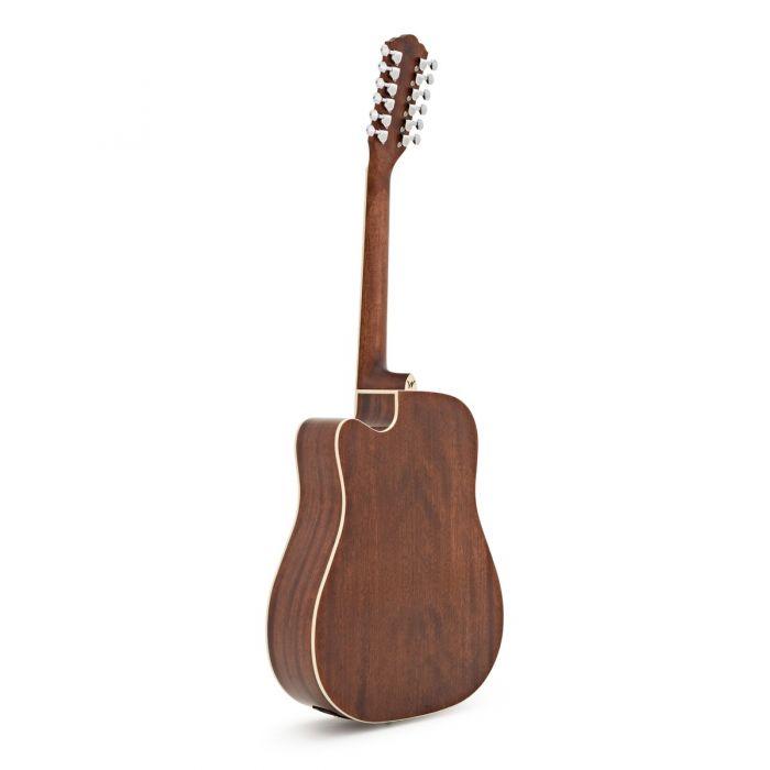 Washburn HD10SCE-12 Str Acoustic Natural Bacj