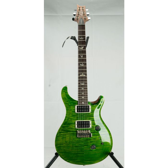 PRS Custom 24 Guitar Pattern Thin RW, Emerald front view