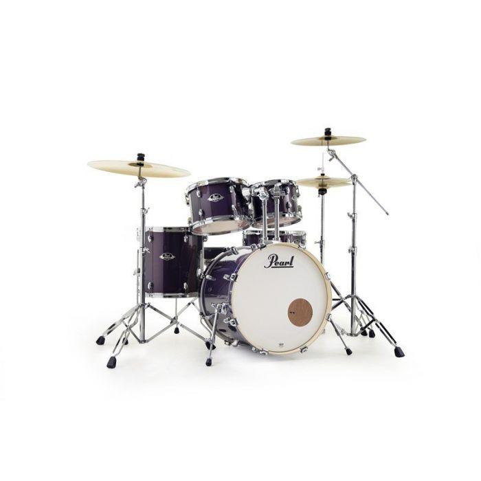 Pearl Export 22 5Pc Kit Purple Nebula Front