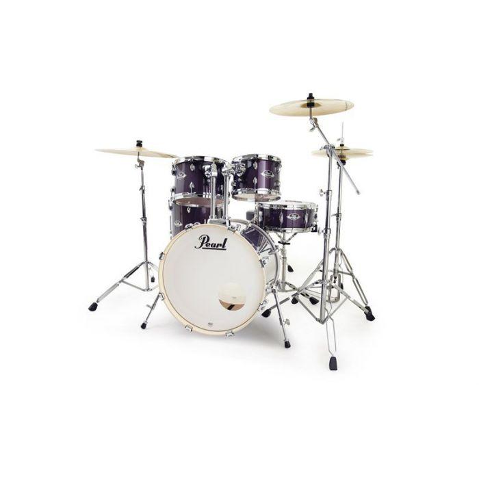 Pearl Export 22 5Pc Kit Purple Nebula Front Alt